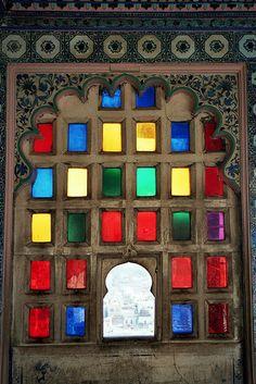 Udaipur Coloured Glass, Adrian Whelan