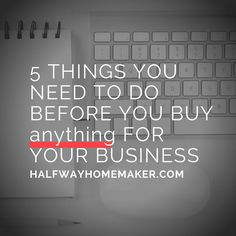 """Do you know what you really need in your business? So often, I hear business owners talk about all the things they """"think"""" they need to grow…"""