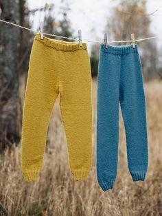 Ullbukse garnpakker år i Finullgarn fra Rauma Garn Knitting For Kids, Drops Design, Kids And Parenting, Sarees, Pattern Design, Knitting Patterns, Sweatpants, Clothes, Dresses