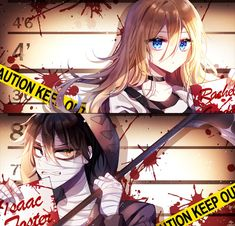 Satsuriku no Tenshi (Angels Of Death) Image - Zerochan Anime Image Board Fanart Manga, Manga Anime, Anime Art, Angel Of Death, Anime Triste, Ange Demon, Rpg Horror Games, Satsuriku No Tenshi, Angel Beats