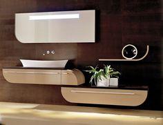 Luxury Italian bathroom vanities classic style