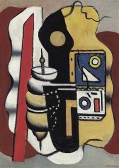 Composition à la toupie By Fernand Léger