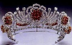 The Royal Order of Sartorial Splendor: May 2012 The Burmese Ruby Tiara