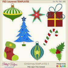 Christmas Layered Templates 5 cudigitals.com cu commercial scrap scrapbook digital graphics#digitalscrapbooking #photoshop #digiscrap