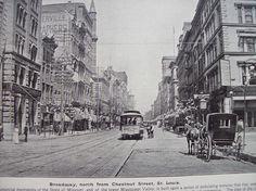 1894, Broadway, St. Louis Missouri