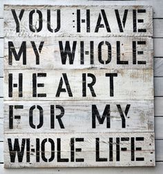 Vintage Sign, Vintage Wall Art, Black and White, Sign with Quote, Reclaimed wood sign, Rustic wall art,  Nursery Art, Shabby Chic Sign