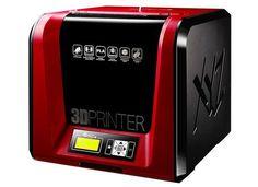 XYZ Printing da Vinci Junior Pro Printer with Filament - Top Printers UK 3d Cad Software, Cheap 3d Printer, Desktop 3d Printer, 3d Printer Designs, 3d Printing Service, Stepper Motor, Good And Cheap, Computer, Sd Card
