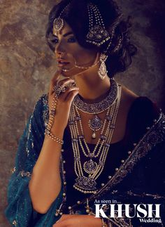 No bridal ensemble is complete with out Anees malik jewels. Reign in opulence with an intricate piece designed by the Midlands based jewellery maker himself!  +44(0)7966 599 796  info@aneesmalik.co.uk www.aneesmalik.co.uk  Photography: Content Photography  Makeup: Fozia Tawfiq  Hair: Aamir Naveed  Outfits: MEHZABEEN