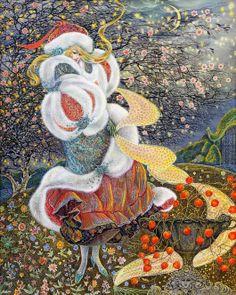 Beautiful Watercolor Paintings By Pamela Colebourn