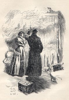 Jane Eyre F. H. Townsend illustration 3