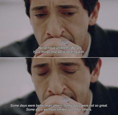 Detachment, Adrien Brody as Henry Barthes