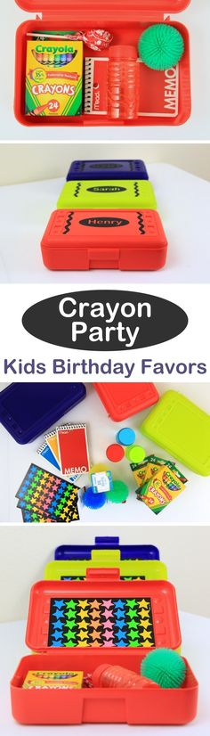 Kids Birthday Party Favor Ideas on Love The Day
