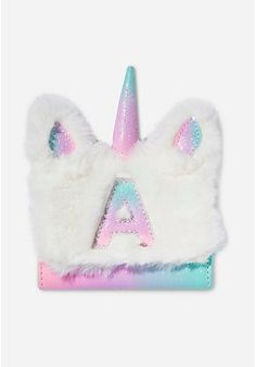 Justice is your one-stop-shop for on-trend styles in tween girls clothing & accessories. Shop our Pastel Unicorn Initial Wallet. Unicorn Rooms, Unicorn Bedroom, Justice Accessories, Girls Accessories, Unicorn Phone Case, Cute School Supplies, Justice School Supplies, Unicorn Fashion, Unicorn Pictures