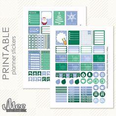 December Planner Stickers Erin Condren Stickers by MeeDigiScrap