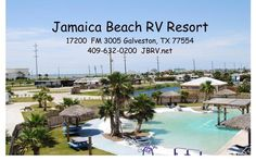 Jamaica Beach RV Resort located in Galveston Texas, is the highest rated campground on Galveston Island Tx, with some of the best rates.
