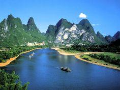 Гордость Китая: горы Гуйлинь