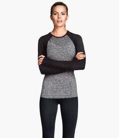 Seamless Sports Top $24.95 H&M US