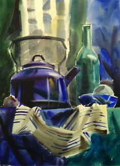 Painting Watercolor Still Life Water Colors 57 Super Ideas Watercolor Landscape, Landscape Paintings, Watercolor Paintings, Watercolor Ideas, Academic Drawing, Academic Art, Still Life Drawing, Painting Still Life, Anime Comics
