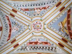 Ceiling fresco by Benedeto Bembo