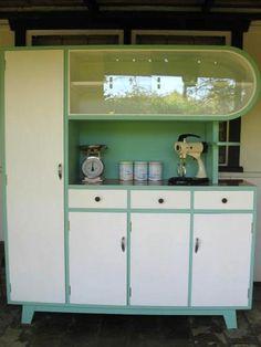 Kitchen dresser - love that shape