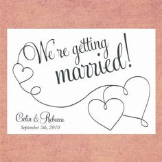 wedding save the date template - Google Search