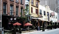 Spring Garden Road, Halifax, Nova Scotia. A busy pedestrian street in the heart of downtown.