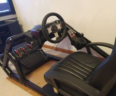 off this is my first Instructable so I hope I took enough pics and I don't do too terrible with the instructions. this is not my design, I got the plans . Racing Simulator, Racing Seats, Racing Wheel, Gaming Furniture, Kids Furniture, Gamer Chair, Bartop Arcade, Gaming Room Setup, Chairs