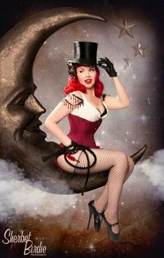 This would make a cute tattoo shared for the love of pin up by http://thepinuppodcast.com.