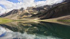 Mobile shot, Moon Lake, Chandratal, Spiti, HP, India