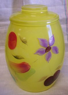 Vintage cookie jar $25  (MY Mom had this cookie jar all my growing up years and it always had some sort of yummy cookies in it for us to enjoy.)
