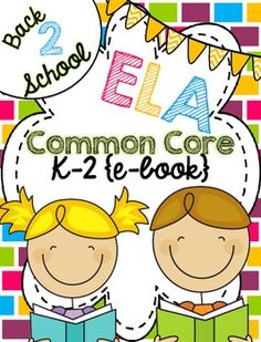 Lots of great ideas and freebies for teaching Common Core ELA in this FREE ebook for back to school.