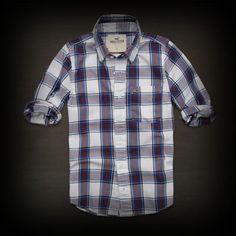 Hollister メンズ シャツ ホリスター Point Mugu Shirt シャツ-アバクロ 通販 ショップ #ITShop