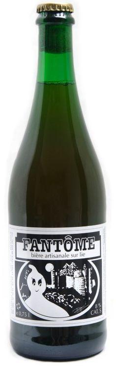 Cerveja Fantôme Saison, estilo Saison / Farmhouse, produzida por Fantôme, Bélgica. 8% ABV de álcool.