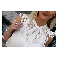 "1,021 curtidas, 45 comentários - Unique Chic (@uniquechicoficial) no Instagram: ""Detalhes 😍📸 #beUniqueChic"" Fancy Tops, Dressy Tops, Cute Tops, Fashion Wear, Fashion Beauty, Fashion Outfits, Diy Schmuck, Long Tops, Blouse Designs"