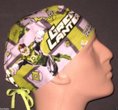 timeless design 751f2 f3ab4 D.C COMIC HERO THE GREEN LANTERN RARE SURGICAL SCRUB HAT  2 FREE USA  SHIPPING!