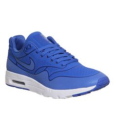 884dc81d6fdf8 Nike Air Max 1 Ultra Moire (l) Game Royal White - Hers trainers