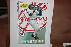 Derek Jeter eTopps Canvas Print 16x20 2008 New York Yankees National Promo | eBay