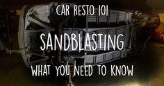 car sandblasting