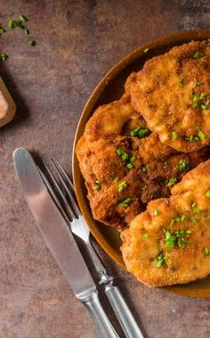 Matzo Chicken Schnitzel for Passover