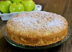 Sharlotka is a Russian apple dessert that we call an apple pie, but it's definitely not like the typical American apple pies. It's more like a cake. Apple Pie Cake, Apple Cake Recipes, Apple Desserts, Easy Desserts, Dessert Recipes, Hungarian Recipes, Russian Recipes, Food Cakes, Russian Apple Cake Recipe
