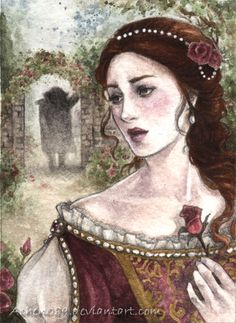 ACEO:Beauty and the Beast by ~Achen089 on deviantART
