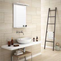Monza Beige Wood Effect Tile - Wall and Floor - 600 x 300mm Medium Image