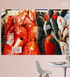 """Fische zum Verkauf in der Markthalle """"Mercado del Puerto"""", Las Palmas, Gran Canaria, Spanien"""