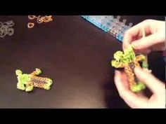 Rainbow Loom Yoda Star Wars Action Figure Tutorial (My Invention)