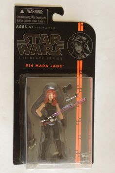"Star Wars Black Series Mara Jade Skywalker 3.75"" action figure Jedi Knight #014"