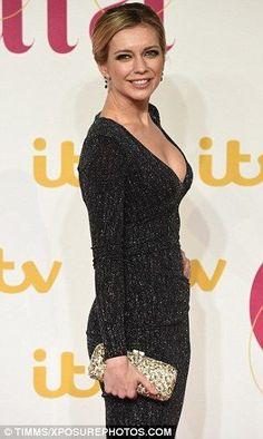 Rachel Riley puts on a busty display in low-cut dress at ITV Gala Rachel Riley Countdown, Rachel Riley Legs, Racheal Riley, Low Cut Dresses, Beautiful Gorgeous, Beautiful Females, Hollywood Celebrities, Bellisima, Beauty