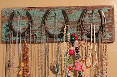 Necklace holder - Nicole would love this!