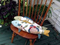 Fabric Fish. I don't why, but these make me giggle!