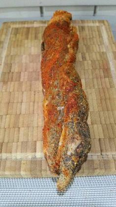 Lomo fait maison (filet mignon de porc séché)