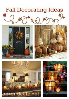 Fall Decorations {10′s of Fall}